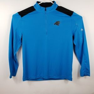 Other - Majestic Men's Carolina Panthers 1/4 Zip Pull-on
